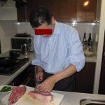 削ぎ切り肉の会