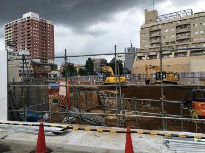 武蔵小山パルム駅前地区の再開発