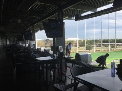 ヒューストンでゴルフ練習〜Topgolf