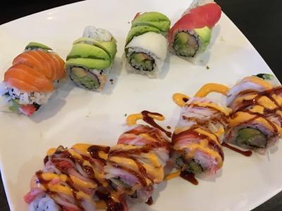 ヒューストンで寿司食べ放題〜Sushi 9
