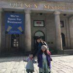 ボストン観光〜クインシーマーケットでチャウダー