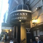 NYでステーキ〜Tuscany Steakhouse