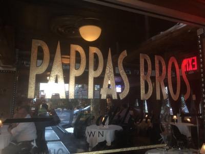 ヒューストンでラストディナー〜Pappas Bros. Steakhouse
