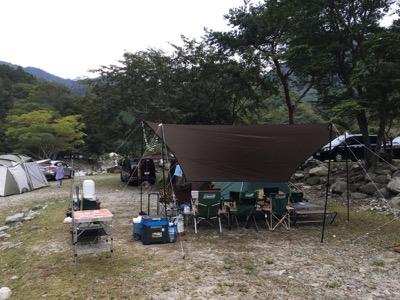 そういえば日本で初キャンプ