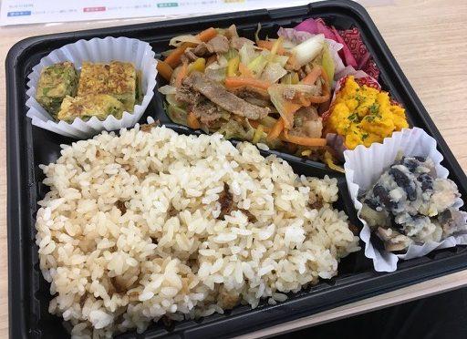 太らない弁当〜未来食堂