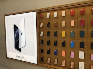 iPhone SEをてにいれた!