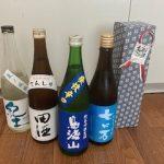 今週の日本酒(四合瓶はジャケ買い)