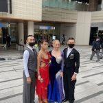 屋外と社交ダンス