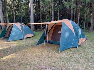 2021年もキャンプ行けました