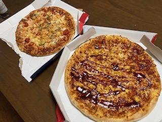 持ち帰り半額のドミノ・ピザ
