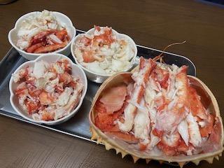 蟹を食べても無言にならない方法